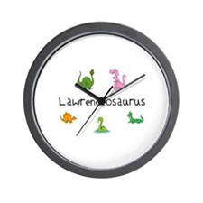 Lawrenceosaurus Wall Clock