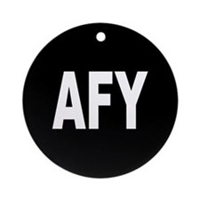 AFY Ornament (Round)