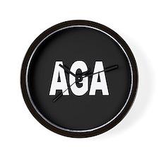 AGA Wall Clock