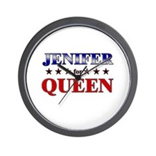 JENIFER for queen Wall Clock