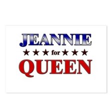 JEANNIE for queen Postcards (Package of 8)