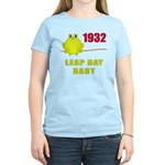 1932 Leap Year Baby Women's Light T-Shirt