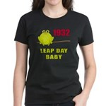 1932 Leap Year Baby Women's Dark T-Shirt
