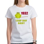 1932 Leap Year Baby Women's T-Shirt