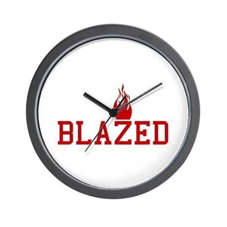Blazed Wall Clock