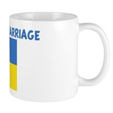 UKRAINIAN BY MARRIAGE Small Mug