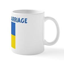 UKRAINIAN BY MARRIAGE Small Mug