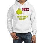 1932 Leap Year Baby Hooded Sweatshirt