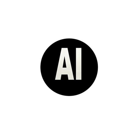 AI Mini Button (100 pack)