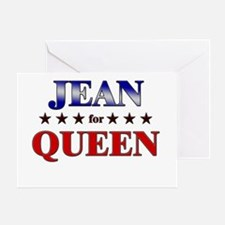 JEAN for queen Greeting Card