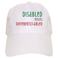 Disabled = Differently-abled Baseball Cap