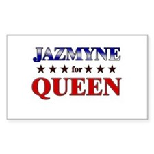JAZMYNE for queen Rectangle Decal