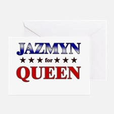 JAZMYN for queen Greeting Card