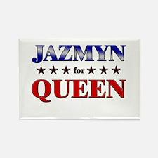 JAZMYN for queen Rectangle Magnet