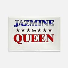 JAZMINE for queen Rectangle Magnet