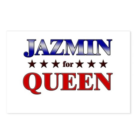 JAZMIN for queen Postcards (Package of 8)