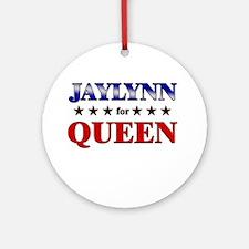 JAYLYNN for queen Ornament (Round)