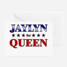 JAYLYN for queen Greeting Card