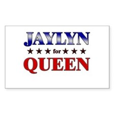 JAYLYN for queen Rectangle Decal