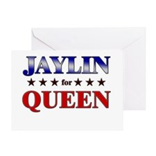 JAYLIN for queen Greeting Card