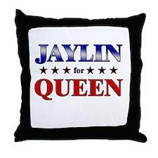 JAYLIN for queen Throw Pillow