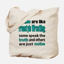 People are like Freestyle Wrestling Tote Bag