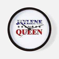 JAYLENE for queen Wall Clock