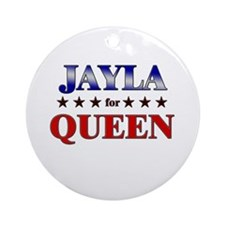 JAYLA for queen Ornament (Round)