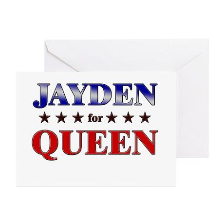JAYDEN for queen Greeting Cards (Pk of 10)