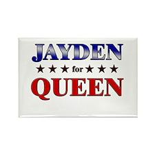 JAYDEN for queen Rectangle Magnet