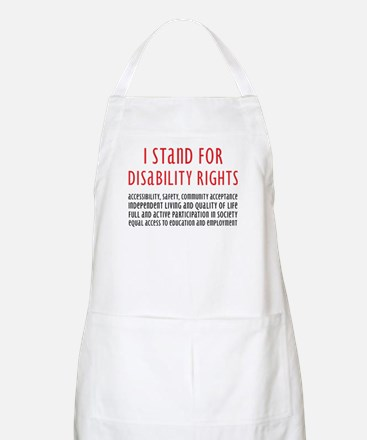 Disability Rights BBQ Apron