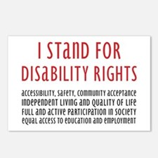 Disability Rights Postcards (Package of 8)