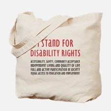 Disability Rights Tote Bag