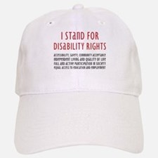 Disability Rights Baseball Baseball Cap