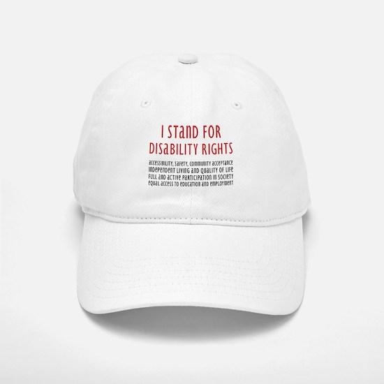 Disability Rights Baseball Baseball Cap