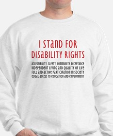 Disability Rights Sweatshirt