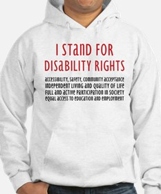 Disability Rights Jumper Hoody
