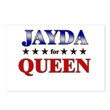 JAYDA for queen Postcards (Package of 8)