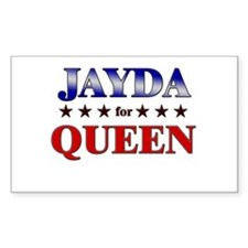JAYDA for queen Rectangle Decal