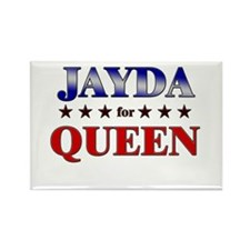 JAYDA for queen Rectangle Magnet