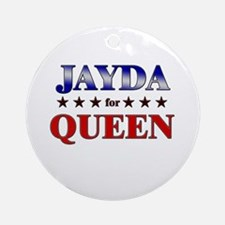 JAYDA for queen Ornament (Round)