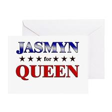 JASMYN for queen Greeting Card