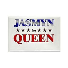 JASMYN for queen Rectangle Magnet