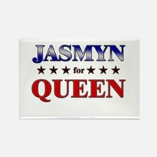 JASMYN for queen Rectangle Magnet