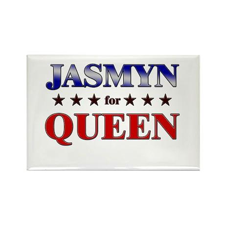 JASMYN for queen Rectangle Magnet (10 pack)