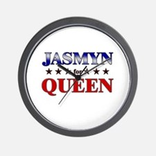 JASMYN for queen Wall Clock