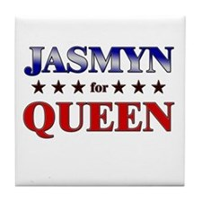 JASMYN for queen Tile Coaster