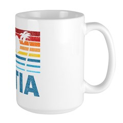 Palm Tree Croatia Mug