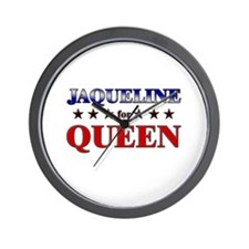 JAQUELINE for queen Wall Clock