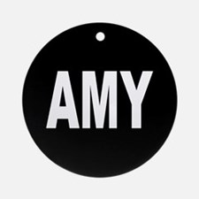 AMY Ornament (Round)